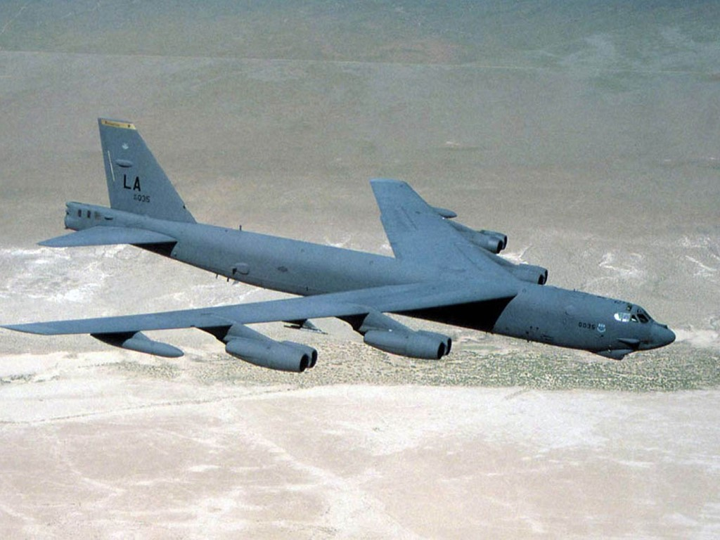 Vehicles Wallpaper: B-52 Bomber