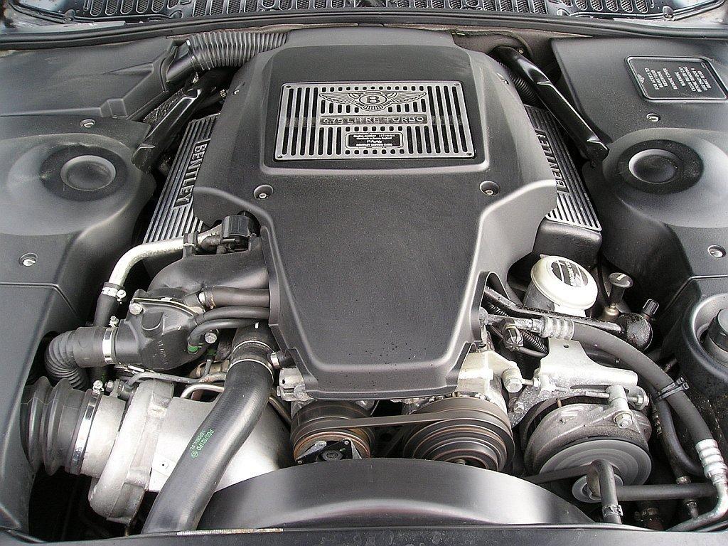 Vehicles Wallpaper: Bentley - Engine