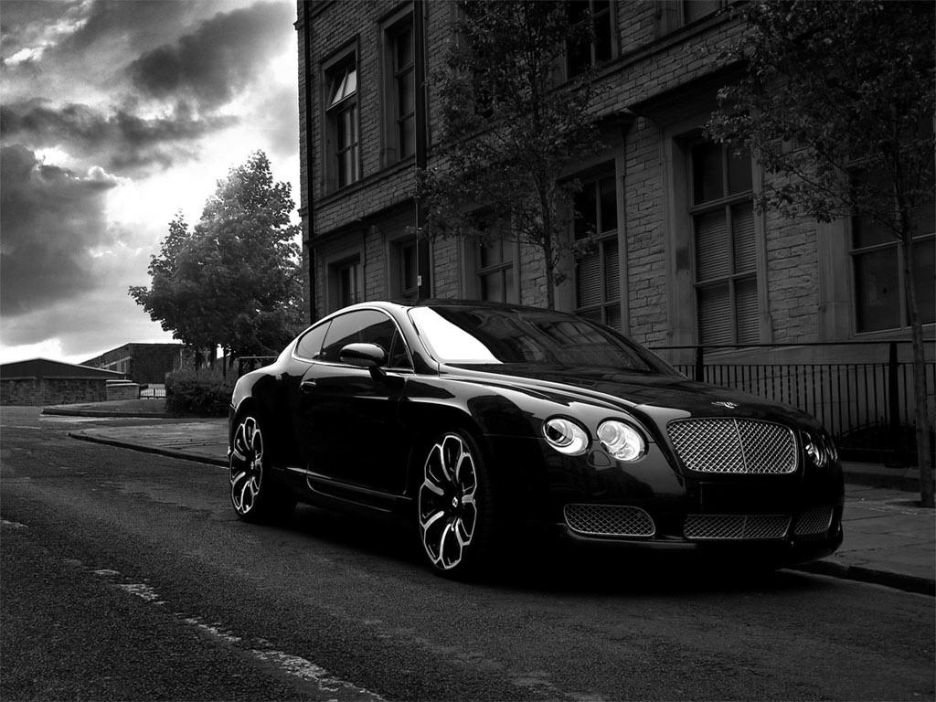 Vehicles Wallpaper: Bentley GTS Black Edition 2008