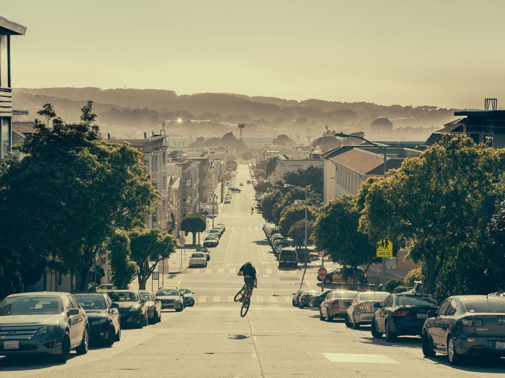 Vehicles Wallpaper: Bike - Downhill