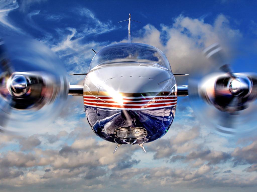 Vehicles Wallpaper: Biplane