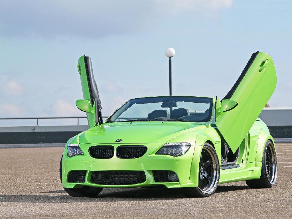 Vehicles Wallpaper: BMW MR 600 GT