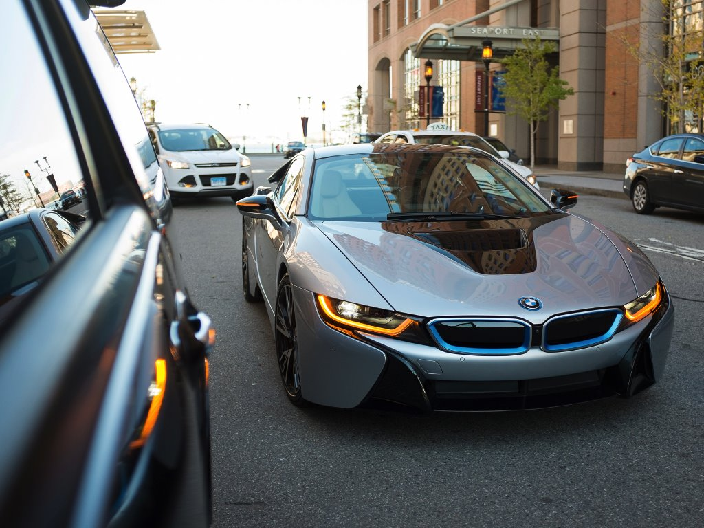 Vehicles Wallpaper: BMW i8