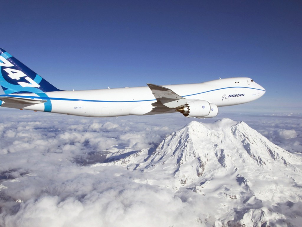 Vehicles Wallpaper: Boeing 747