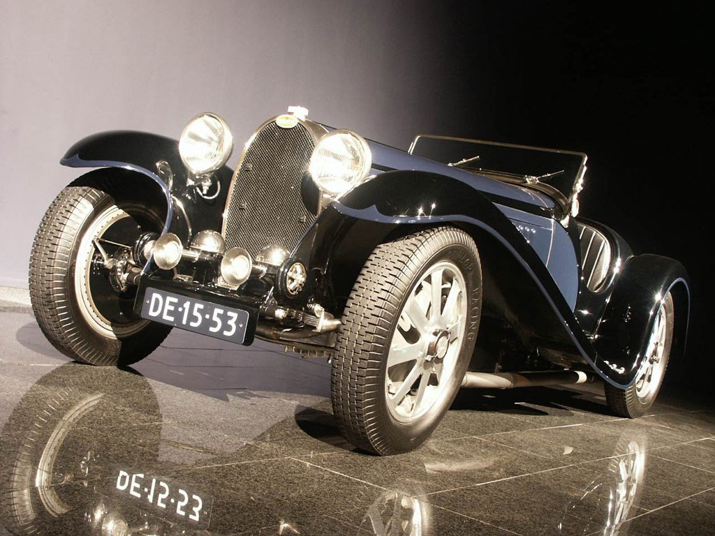 Vehicles Wallpaper: Bugatti Type-55R