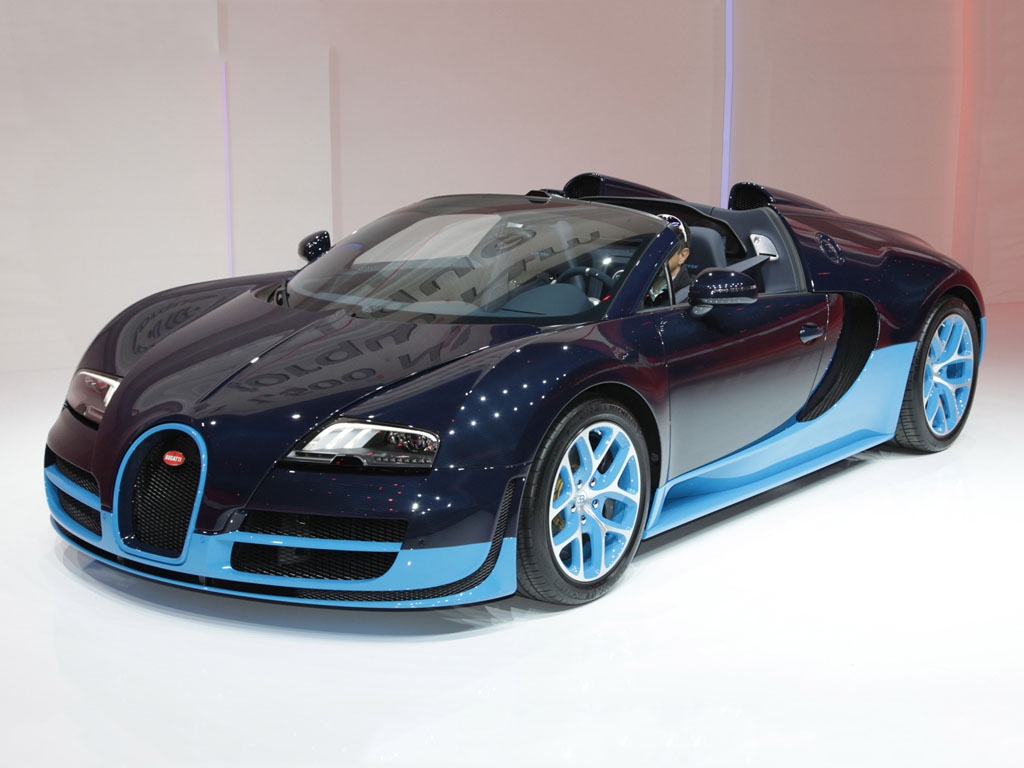 Vehicles Wallpaper: Bugatti Veyron Grand Sport Vitesse