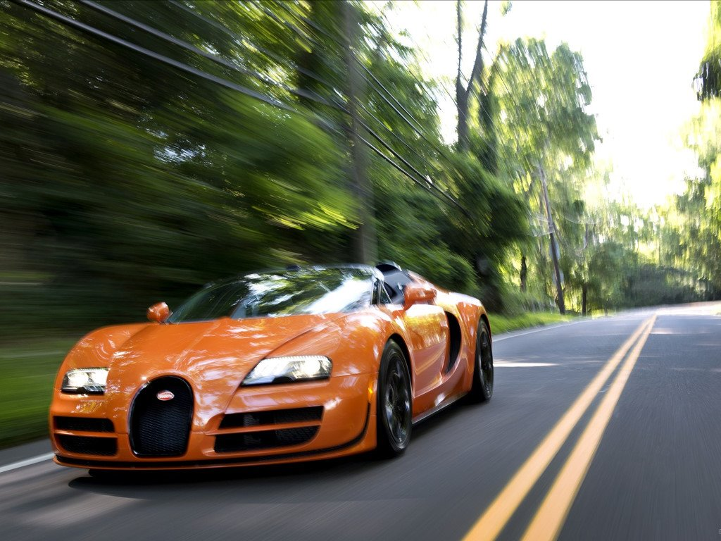 Vehicles Wallpaper: Bugatti Veyron Grand Sport Vitesse 2012