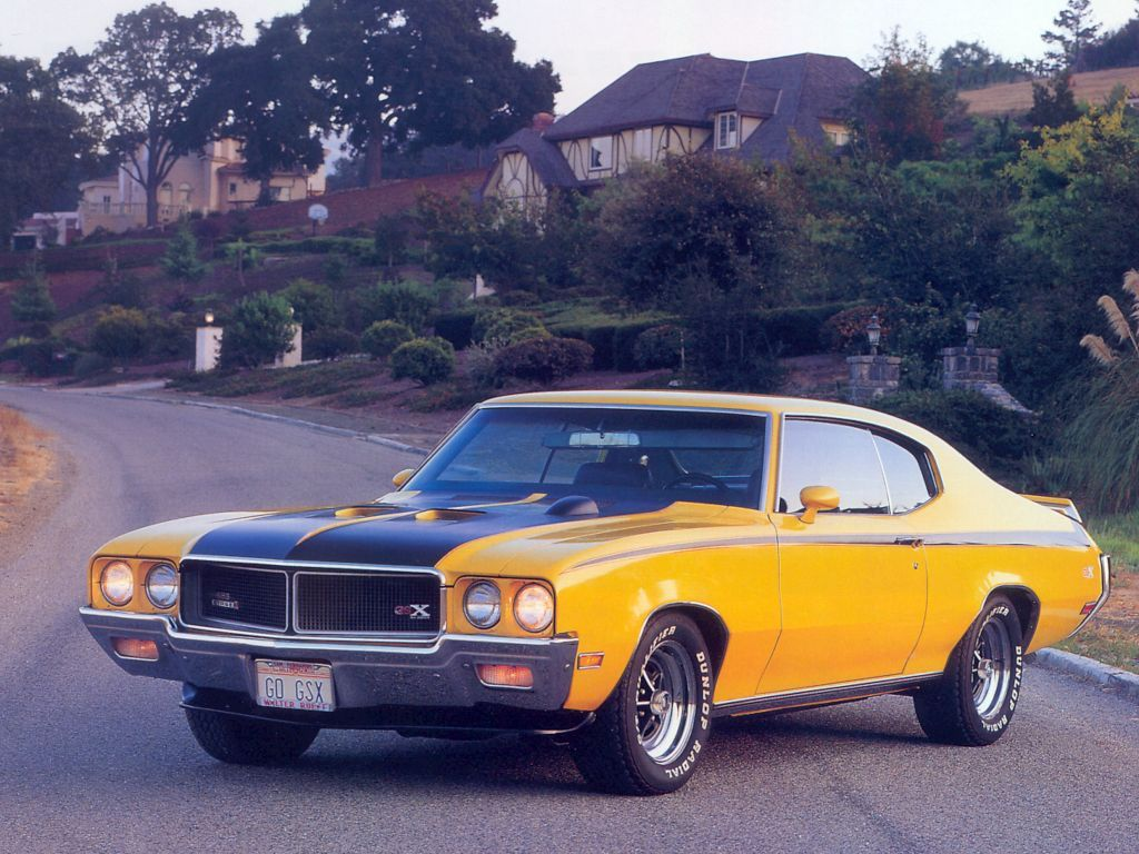 Vehicles Wallpaper: Buick GSX Coupe