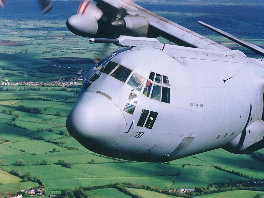 Vehicles Wallpaper: C-130 Hercules