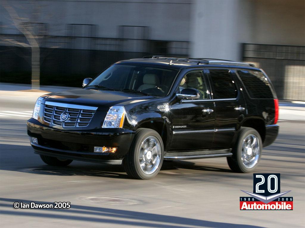 Vehicles Wallpaper: Cadillac Escalade