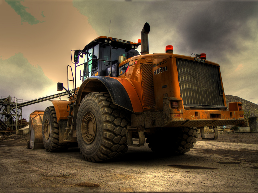 Vehicles Wallpaper: Caterpillar