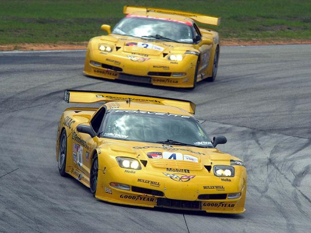 Vehicles Wallpaper: Chevrolet Corvette C5R