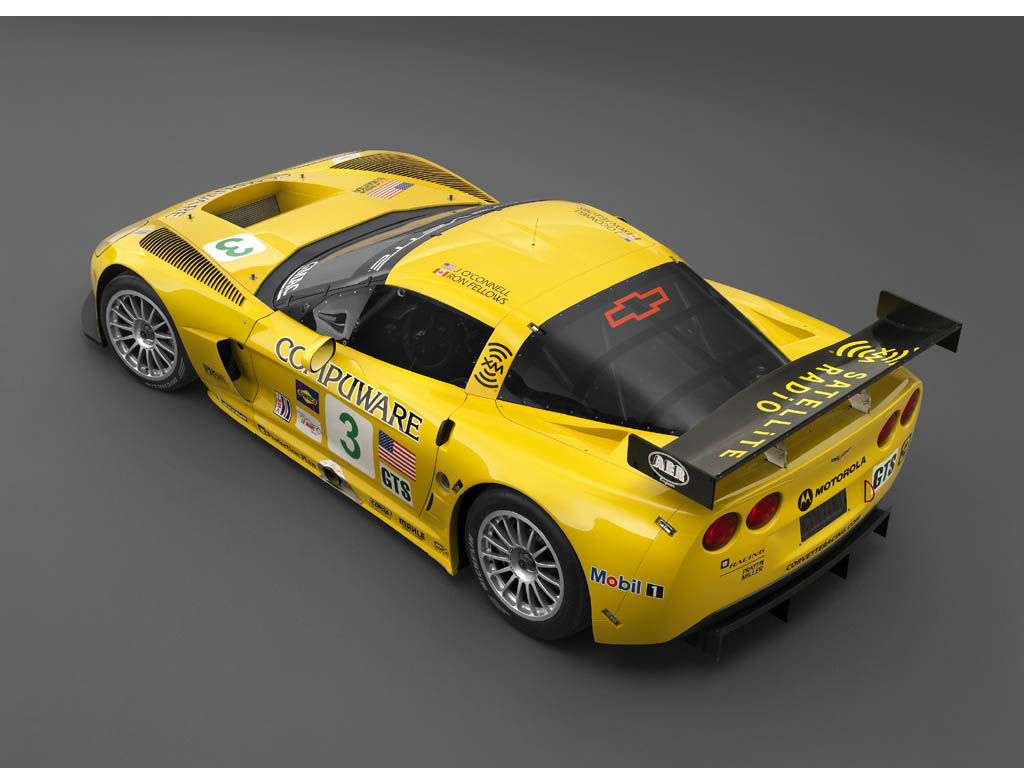Vehicles Wallpaper: Chevrolet Corvette C6R