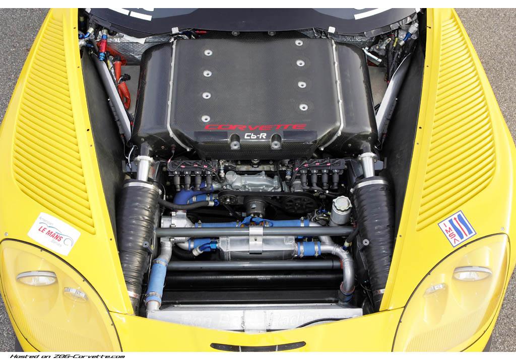 Vehicles Wallpaper: Chevrolet Corvette C6R - Engine