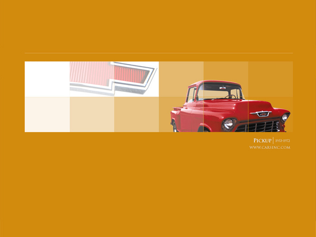 Vehicles Wallpaper: Chevy Pickup