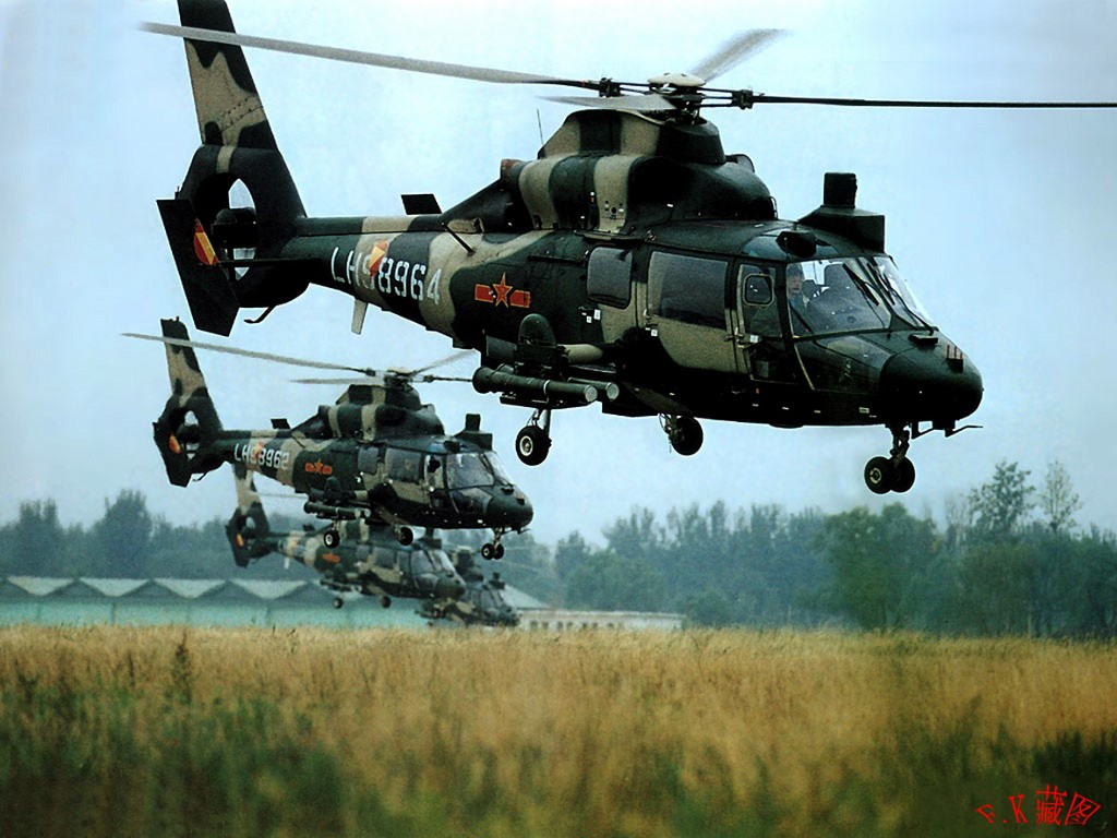 Vehicles Wallpaper: Chinese Helicopters