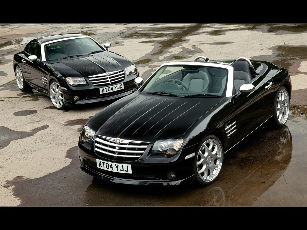 Vehicles Wallpaper: Chrysler - Crossfire Roadster Coupe