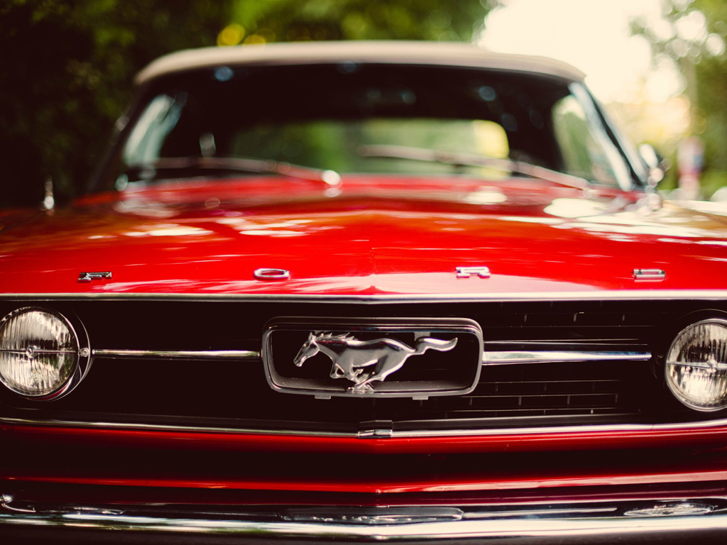 Vehicles Wallpaper: Ford Mustang - Classic