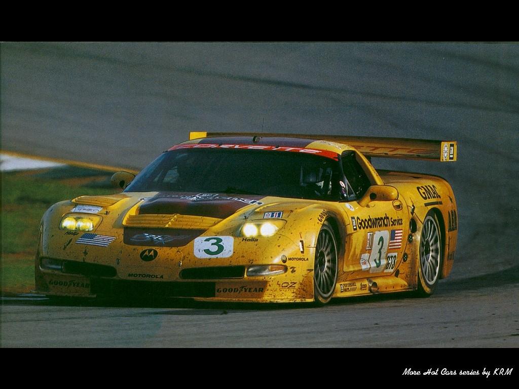 Vehicles Wallpaper: Corvette C5R - Road Racer