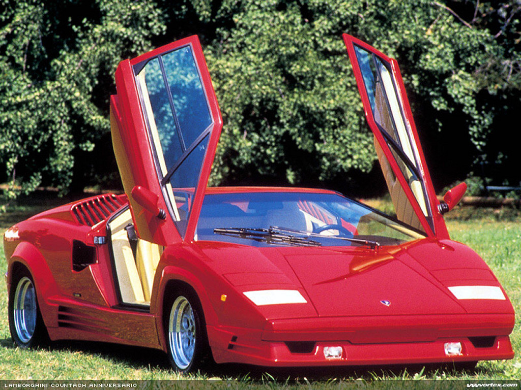 Vehicles Wallpaper: Lamborghini Countach