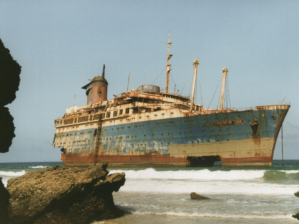Vehicles Wallpaper: Derelict Ship - American Star