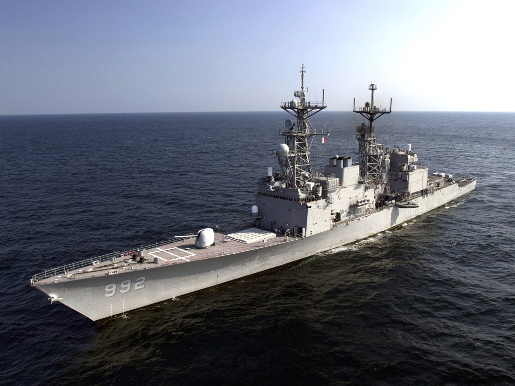 Vehicles Wallpaper: Destroyer - USS Fletcher