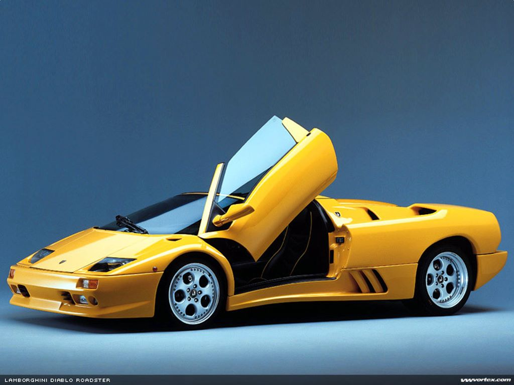 Vehicles Wallpaper: Diablo Roadster