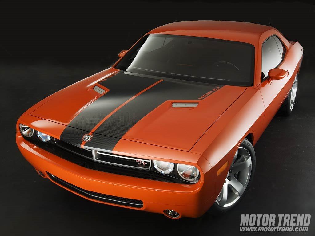 Vehicles Wallpaper: Dodge Challenger