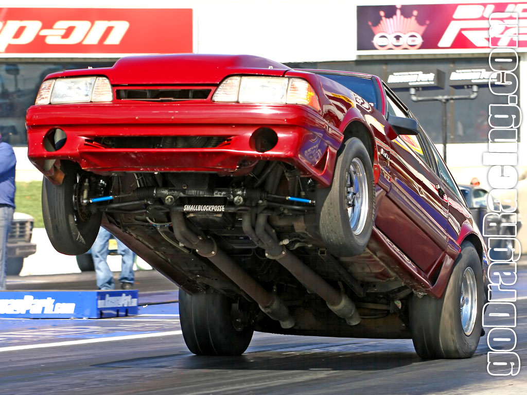 Vehicles Wallpaper: Drag Racer
