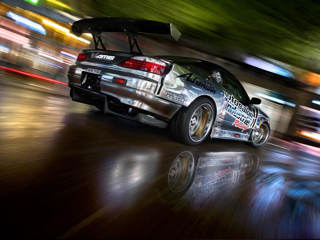 Vehicles Wallpaper: Drifting