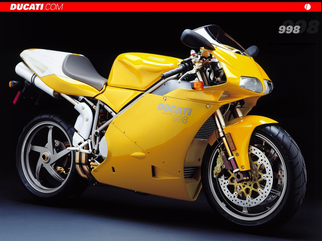 Vehicles Wallpaper: Ducati 998