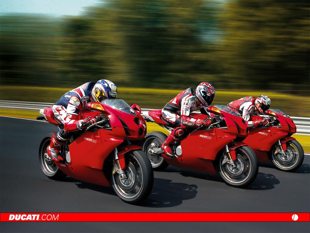 Vehicles Wallpaper: Ducatti 999