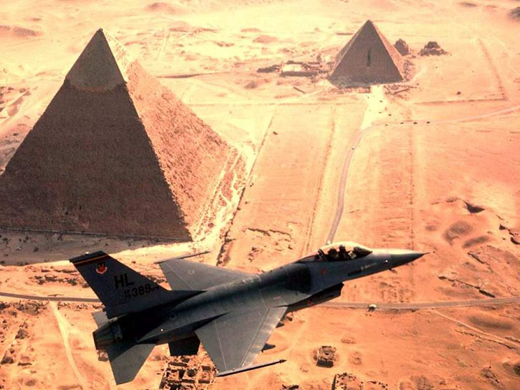 Vehicles Wallpaper: Egyptian Air Force
