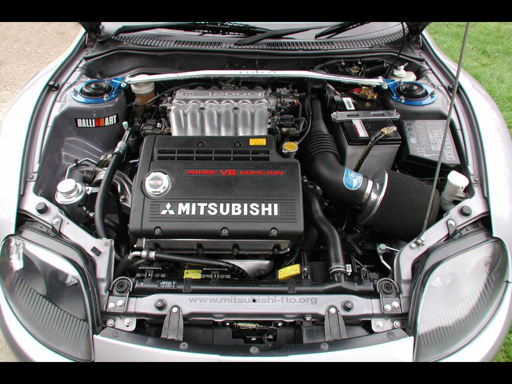 Vehicles Wallpaper: Engine - Mitsubishi
