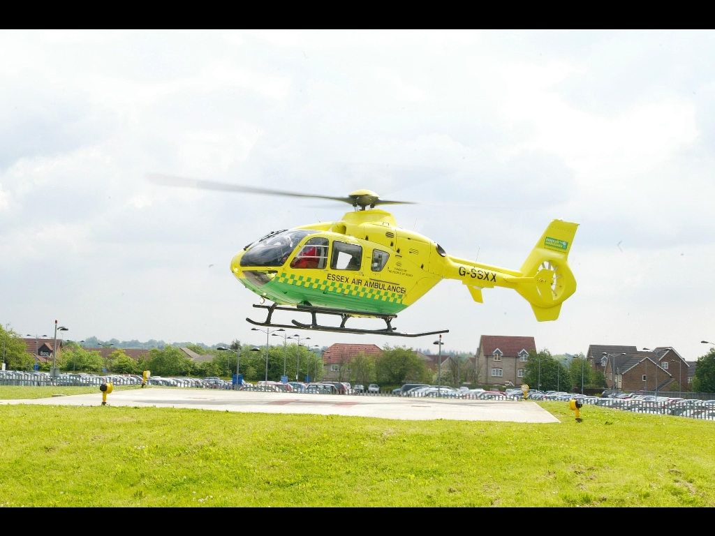 Vehicles Wallpaper: Essex Air Ambulance