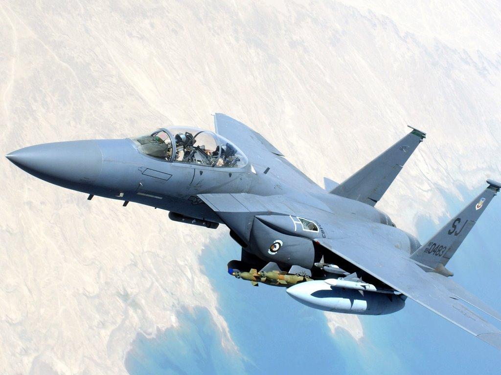 Vehicles Wallpaper: F-15 Strike Eagle