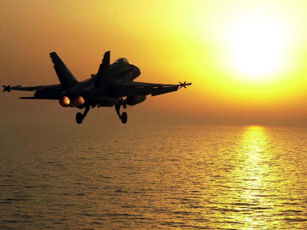 Vehicles Wallpaper: F-18