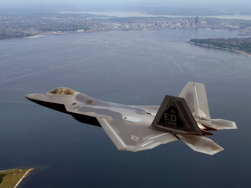 Vehicles Wallpaper: F-22 Raptor