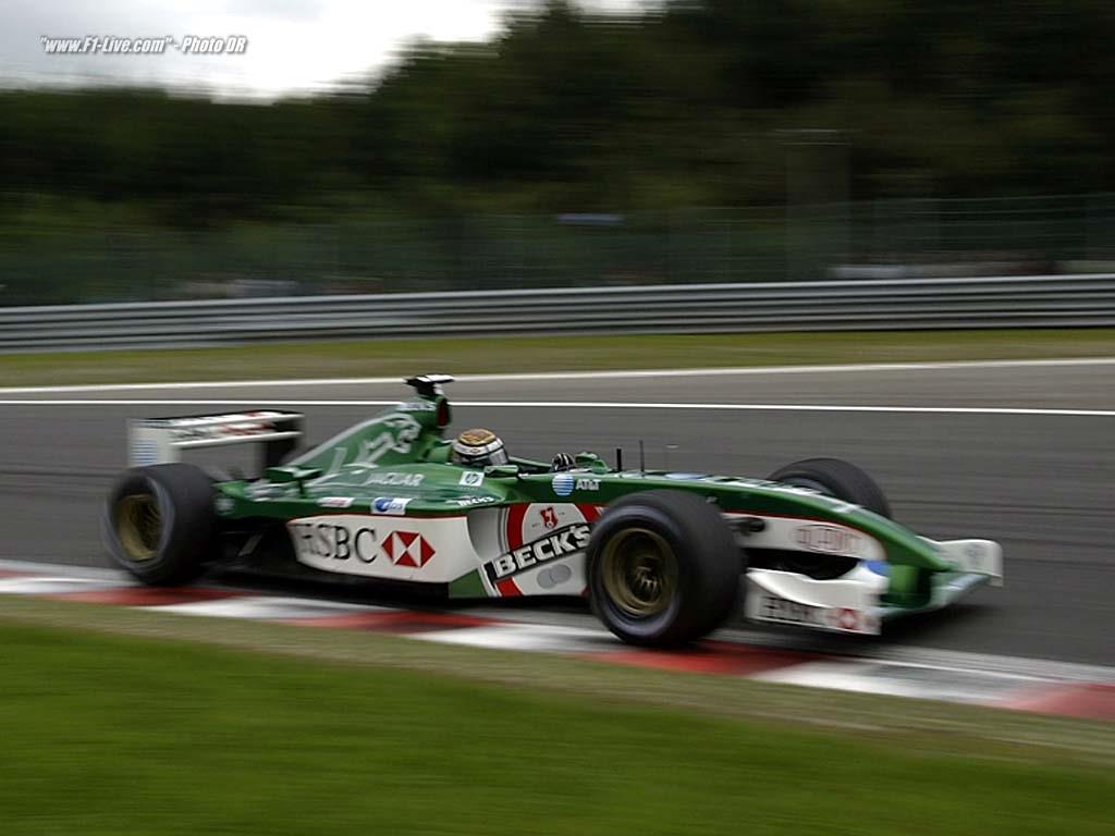 Vehicles Wallpaper: F1 - Jaguar