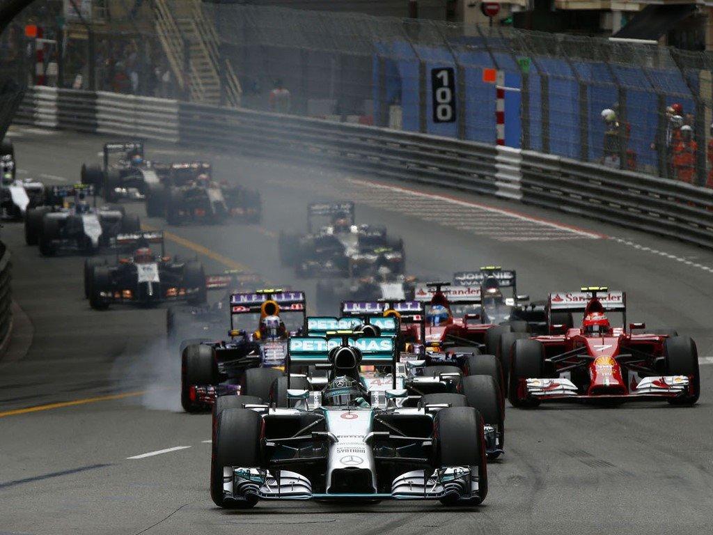 Vehicles Wallpaper: F1 - GP Monaco 2014