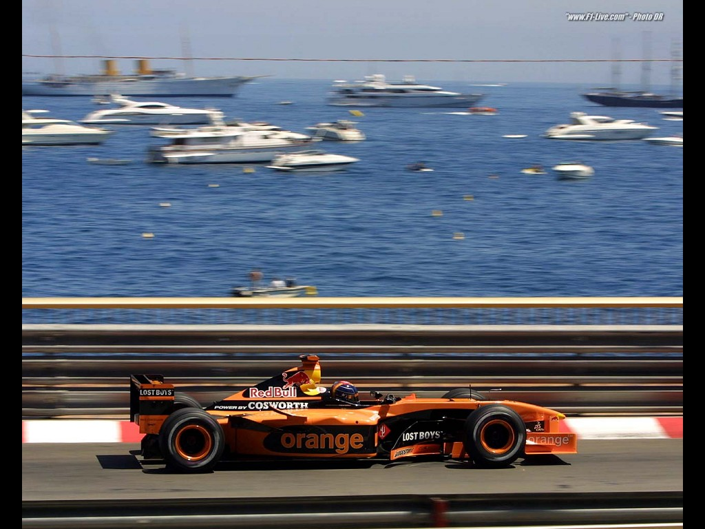 Vehicles Wallpaper: F1 - Orange
