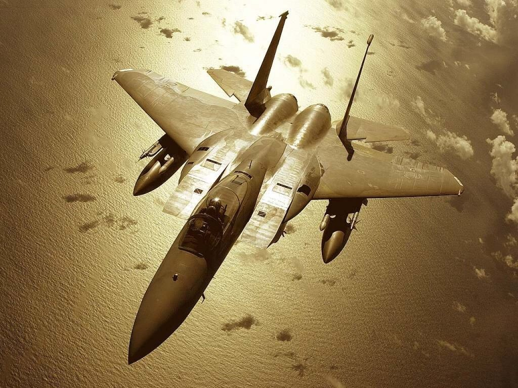 Vehicles Wallpaper: F-15 Eagle Fighter