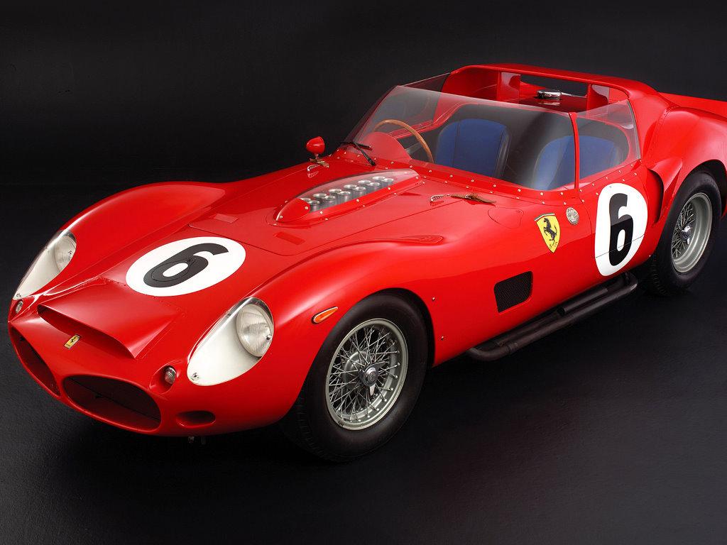 Vehicles Wallpaper: Ferrari Testa Rossa
