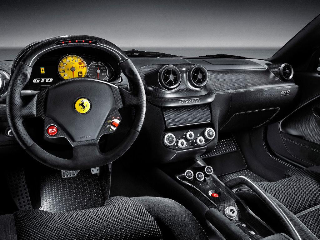 Vehicles Wallpaper: Ferrari 599 GTO 2010