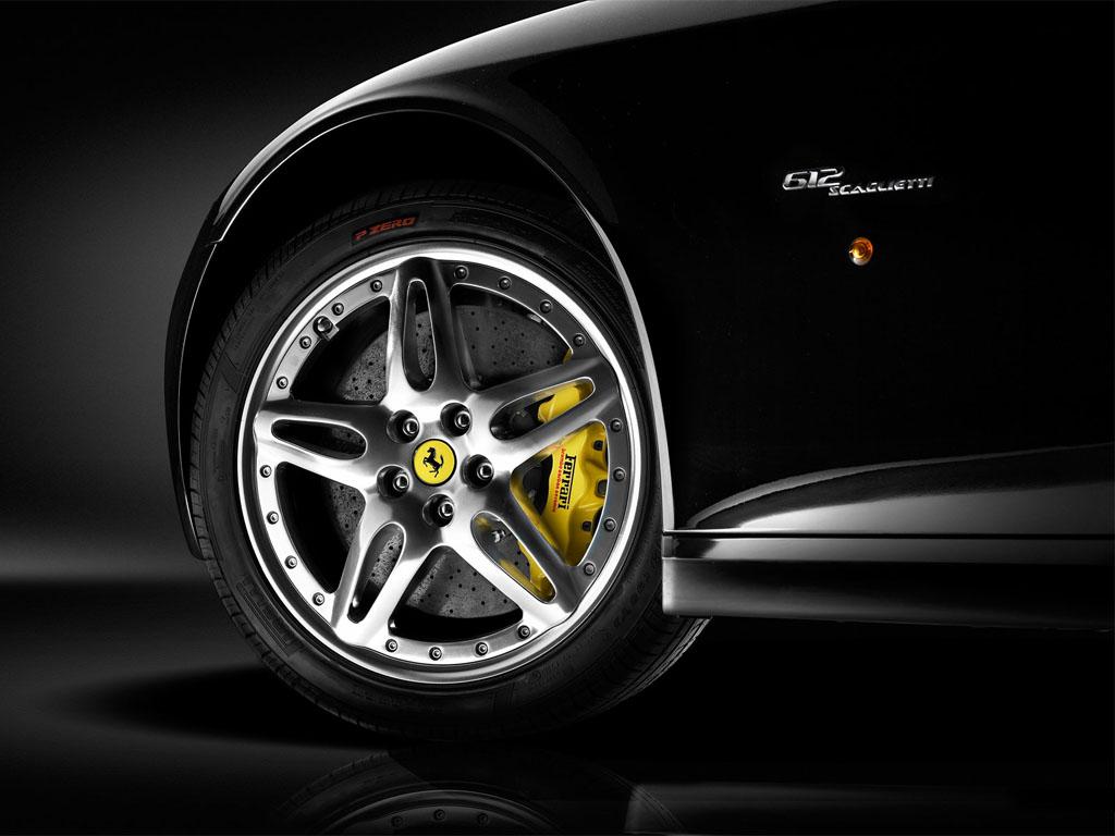Vehicles Wallpaper: Ferrari 612 Scaglietti