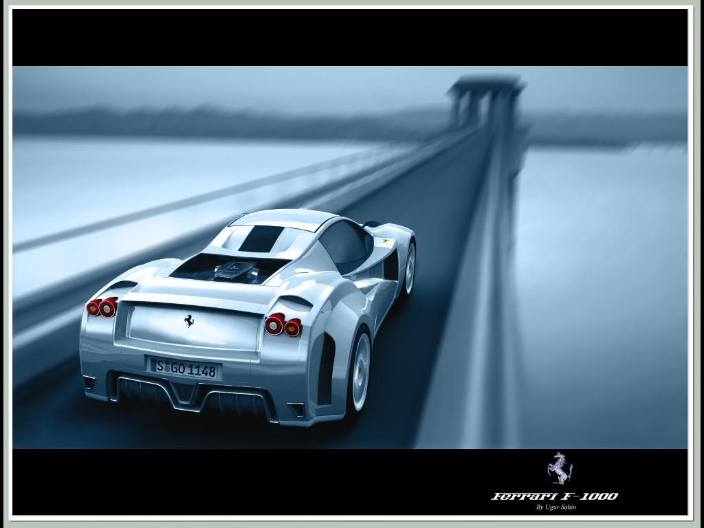 Vehicles Wallpaper: Ferrari F-1000 (Concept)