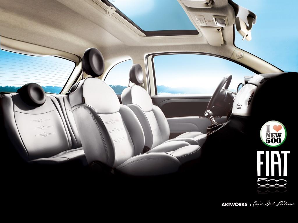 Vehicles Wallpaper: Fiat 500