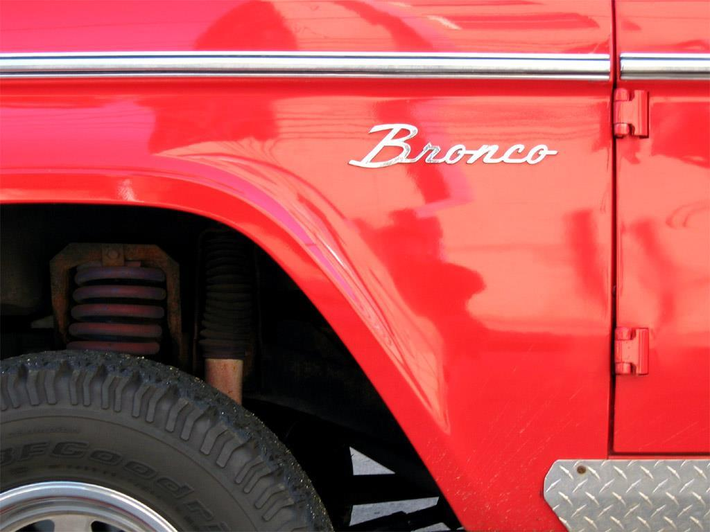 Vehicles Wallpaper: Ford Bronco