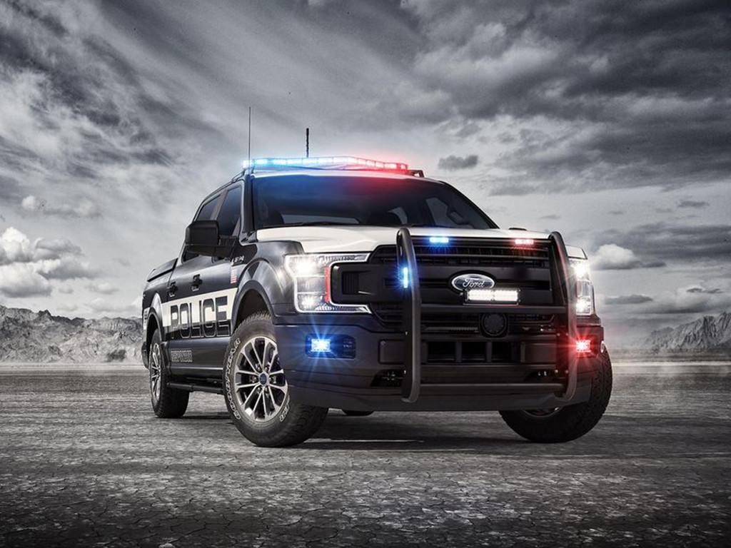 Vehicles Wallpaper: Ford F-150 Police Responder