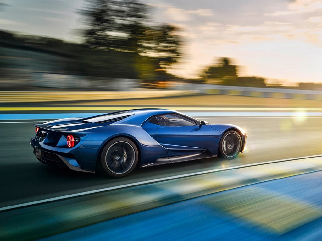 Vehicles Wallpaper: Ford GT 2